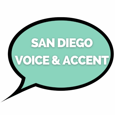 San Diego Voice and Accent